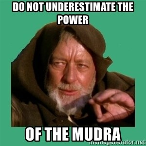 Jedi mind trick - do not underestimate the power of the mudra