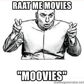 "dr evil austin powers - raat me movies ""moovies"""