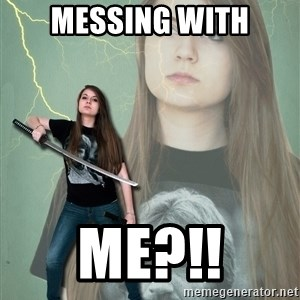 Super Girl Samantha - messing with me?!!