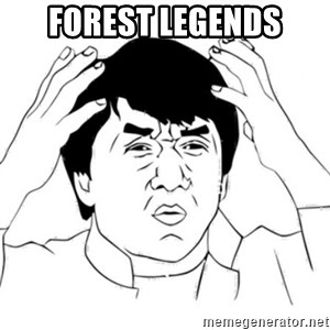 Jackie Chan face - Forest Legends