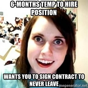 OAG - 6-months temp to hire position wants you to sign contract to never leave