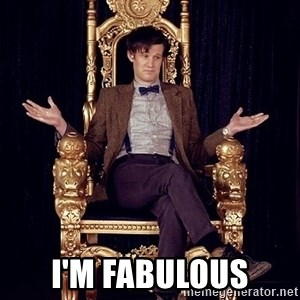 Hipster Doctor Who -  i'm fabulous