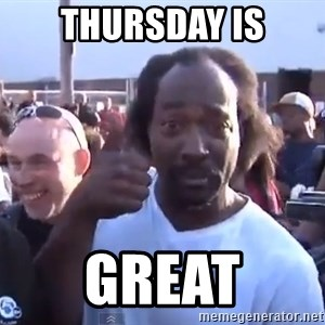 charles ramsey 3 - Thursday is great