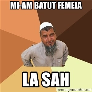 Ordinary Muslim Man - mi-am batut femeia la sah