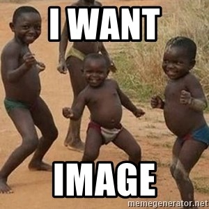 Dancing African Kid - i want  image