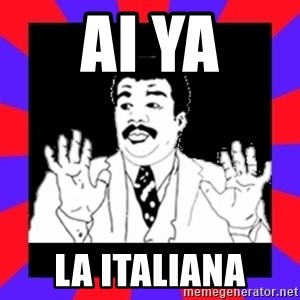 Watch Out Guys - AI YA la italiana