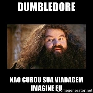 You're a Wizard Harry - dumbledore nao curou sua viadagem imagine eu