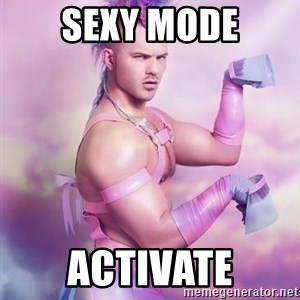 Unicorn Boy - sexy mode activate