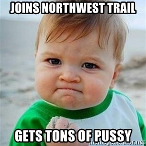 Victory Baby - Joins Northwest Trail Gets tons of pussy