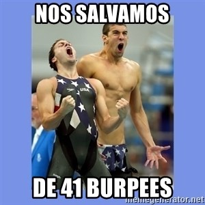 Phelps Celebrate - Nos salvamos de 41 burpees