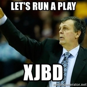 Kevin McFail Meme - Let's run a play XJBD