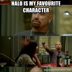 Skin Head John - Halo is my favourite character