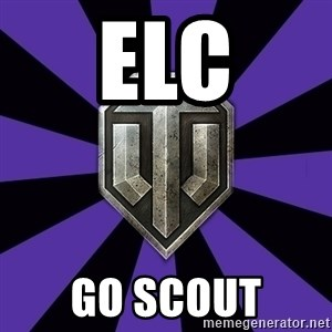 World of Tanks - elc GO SCOUT