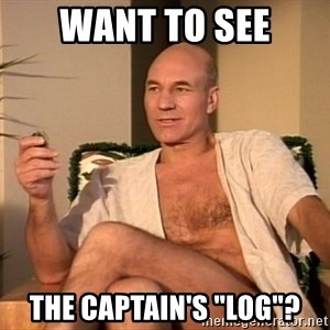 "Sexual Picard - Want to see the captain's ""log""?"