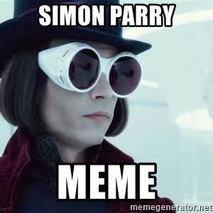 willywonka23 - SIMON PARRY meme