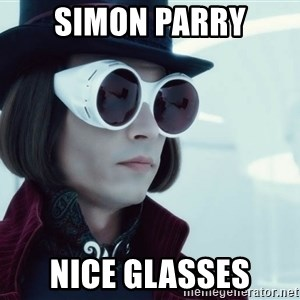 willywonka23 - SIMON PARRY nice glasses