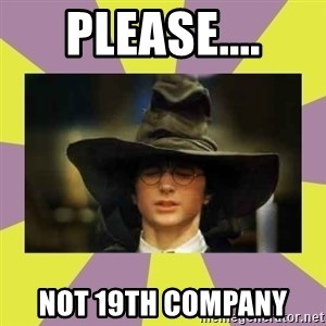 Harry Potter Sorting Hat - please.... not 19th company