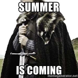 Ned Stark - Summer Is coming