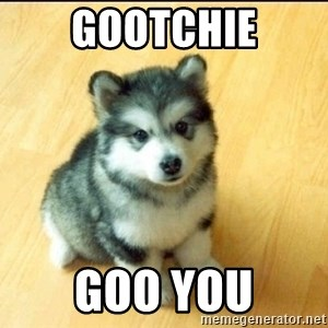 Baby Courage Wolf - gootchie goo you