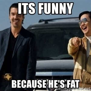 Mr Chow Funny eel - its funny  because he's fat