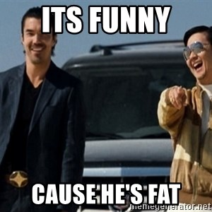 Mr Chow Funny eel - its funny  cause he's fat