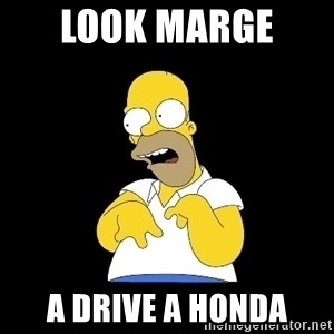 look-marge - look marge  a drive a honda
