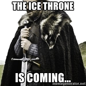 Ned Stark - The ice throne is coming...