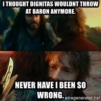 Never Have I Been So Wrong - i thought dignitas wouldnt throw at Baron anymore.  Never have i been so wrong.