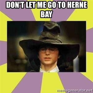 Harry Potter Sorting Hat - Don't let me go to Herne bay