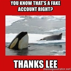 Thanks Obama! - You know that's a fake account right? thanks lee