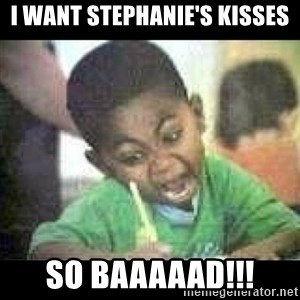 Black kid coloring - i want stephanie's kisses so baaaaad!!!
