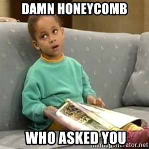 Olivia Cosby Show - Damn Honeycomb  Who asked you