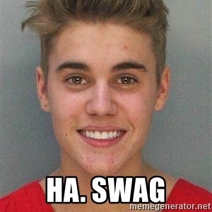 Jail Justin Bieber -  Ha. Swag