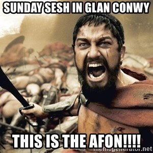 Spartan300 - SUNDAY SESH IN GLAN CONWY THIS IS THE AFON!!!!