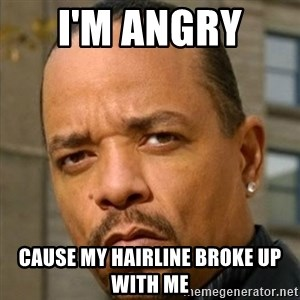 Ice T Sex Addiction Description  Examples - i'm angry  cause my hairline broke up with me