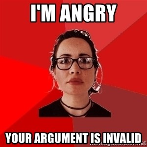 Liberal Douche Garofalo - i'm angry your argument is invalid