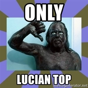 WANNABE BLACK MAN - only lucian top