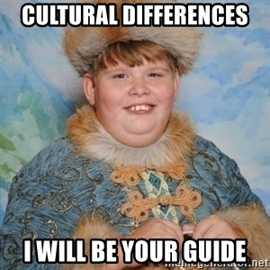 welcome to the internet i'll be your guide - Cultural Differences I will be your guide