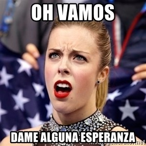 Ashley Wagner Shocker - oh vamos dame alguna esperanza