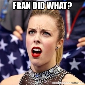 Ashley Wagner Shocker - fran did what?