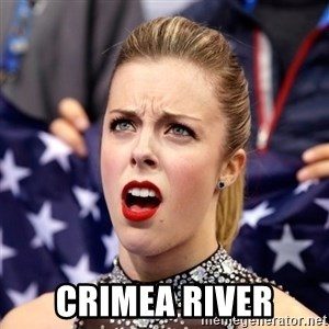 Ashley Wagner Shocker -  Crimea River