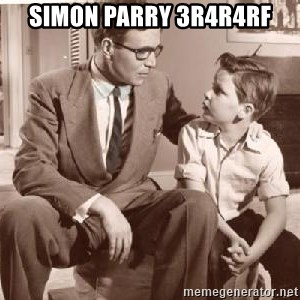 Racist Father - SIMON PARRY 3r4r4rf