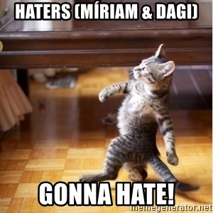 haters gonna hate cat - Haters (Míriam & dagi) gonna hate!