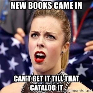 Ashley Wagner Shocker - New Books Came in Can't get it till that catalog it