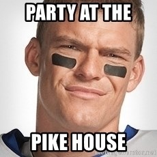 Thad Castle - party at the  pike house