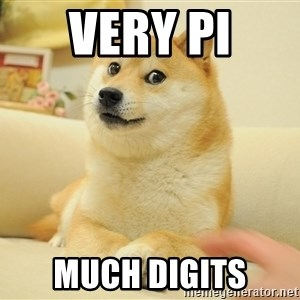 so doge - Very pi much digits