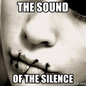 silence - the sound of the silence