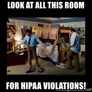 stepbrothers - Look at all this room for hipaa violations!