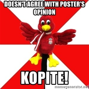 Liverpool Problems - Doesn't agree with poster's opinion KOPITE!