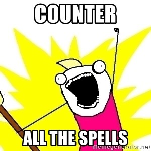 X ALL THE THINGS - Counter All the spells